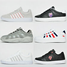K Swiss LEATHER / SUEDE Mens Classic Retro Fashion Trainers From £19.99 FREE P&P