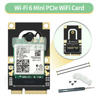 Mini PCIe Dual Band Wireless Intel AX200NGW with Adapter Card 3000M for PC BT5.1