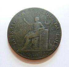 MONNERON  2 sols 1791