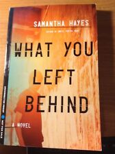 WHAT YOU LEFT BEHIND a Novel - Samantha Hayes PROOF 2015