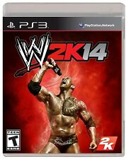 NEW WWE 2K14 World Wrestling Entertainment (Sony Playstation 3, 2013) NTSC