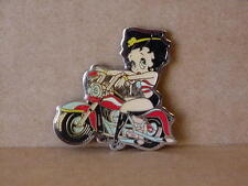 BETTY BOOP MAGNET LOT - TWO PIECES SITTING ON MOTORCYCLE DESIGN (RETIRED ITEMS)