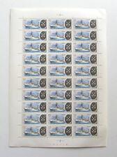 Planches de 30 timbres neufs datés et numérotés - CCCP - Russie 1K - Bateaux