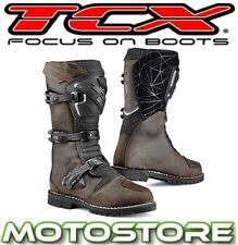 Men's 100% Leather TCX Motorcycle Boots