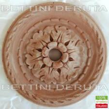 Rosone Terracotta per Fontana Rubinetti Lampadario parete giardino terrazzo