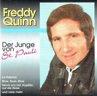 (CD)  Freddy Quinn - Der Junge Von St. Pauli -  La Paloma, O Lonesome Me, u.a.