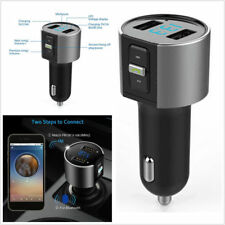 Wireless In-Car Bluetooth Fm Transmitter Mp3 Player Radio Adapter Usb Charger