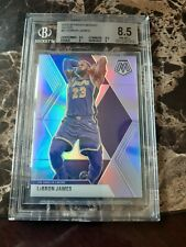 2020 PANINI MOSAIC LEBRON JAMES SILVER 8.5 NM-MT 🔥🔥🔥🔥