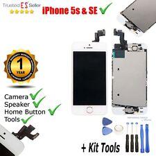 PANTALLA COMPLETA TACTIL LCD PARA IPHONE 5S CRISTAL RETINA BLANCA + Herramientas
