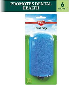 "Kaytee Lava Ledge 6"" for Chinchillas or other small animals"