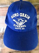 NEMO GRAIN ETHANOL Macon MO Missouri Adjustable Adult Hat Cap