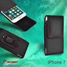 Flip Leather holster Pouch vertic Belt Clip Case Cover For iPhone 7  7 Plus
