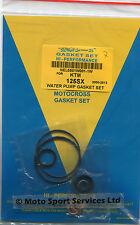 Kit réparation pompe à eau KTM 125 SX EXC 1998-2015 joints et anneaux Mitaka