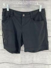 PrAna Women's Cargo Bermuda Dark Gray  Hiking Shorts Size 2
