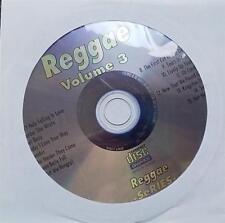 LEGENDS KARAOKE CDG REGGAE VOLUME 3 OLDIES 15 SONGS SEAN PAUL,BOB MARLEY,UB40