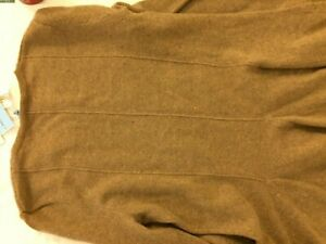 Brown Cashmere Sweater Top Size S with Flare - New