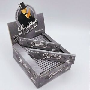 Smoking Brand Silver Master King Size Ultra Thin Slim Cigarette Rolling Papers