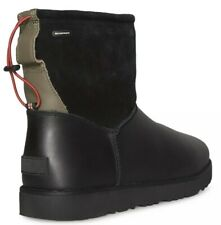 NWT MSRP$190 UGG Men's Classic Toggle Waterproof Boot Black Sz 8 - EU 40.5