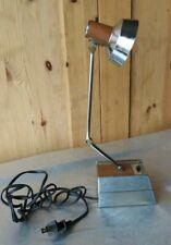 MID-CENTURY MODERN SHINE ARTICULATING DESK LAMP HI/LO SETTING MADE IN TAIWAN
