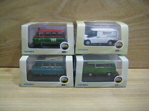 OXFORD DIECAST 1/76th  LOT Z  4 Different  Commercial Vehicles   FREE POSTAGE