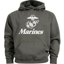 USMC hoodie Men's size US Marines hooded sweatshirt marine corps sweats top