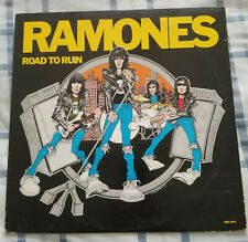 The Ramones Road To Ruin 1st Press Punk Rock Sire SRK 6063