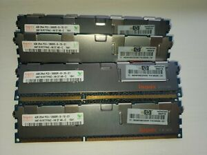Hynix 4GB 2Rx4 PC3L-10600R DDR3 1333MHz 1.35V ECC REGISTERED RDIMM Memory RAM