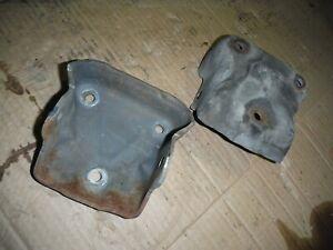 Small block chevrolet engine mounting brackets