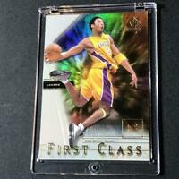 KOBE BRYANT 2000 SP AUTHENTIC #FC7 FIRST CLASS HOLOFOIL REFRACTOR INSERT NBA