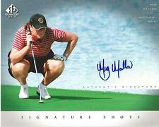 MEG MALLON Autograph / Signed 8 x 10 LPGA Photo 2004 SP Signature Golf UD COA