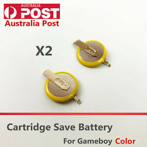 Game Cartridge Save Battery CR2025 For Gameboy Color GBP GBC game cartridges