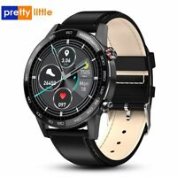 HD Smart Watch for Men ECG PPG IP68 Waterproof Sport Smartwatch Health Monitor