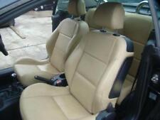 PEUGEOT 207CC TAN LEATHER SEATS & DOOR TRIMS A7 03/07-12/12