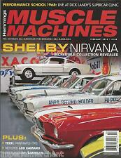 Hemmings Muscle Machines Magazine Shelby Paint Match L89 Camaro Resto Rambler