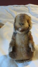 Vintage STEIFF Beaver with Button