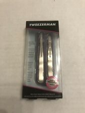 TWEEZERMAN New PETITE TWEEZE SET Purple NIB Tweezer