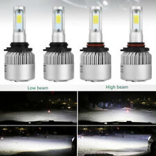 H4 9003 8000LM Car LED Conversion Headlight Hi/Low Beam 6000K White