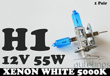 H1 12V 55W Xenon White 5000k Halogen Fog Car Headlight Lamp Globes Bulbs HID