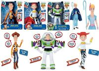 Disney Deluxe Toy Story 4 Buzz Lightyear Sheriff Woody Jessie Action 4+ Doll Fun