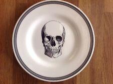 "Royal Stafford Skeleton Skull Halloween Monster Porcelain Ceramic 8"" Salad Plate"