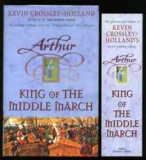 Kevin Crossley-Holland - King of the Middle March; SIGNED 1st/1st + bookmark