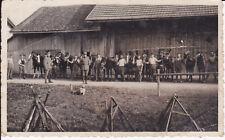 ORIG. foto soldati cavalli setacciano fucili/foto Aubach Thun Svizzera?