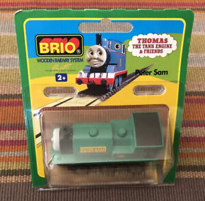 BRIO Wooden Thomas Train Peter Sam! NEW! Hard To Find In US!