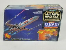 Star Wars Micro Machines Rebel Flight Controller With Luke's X-Wing Starfigther