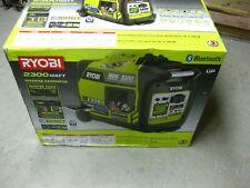 New! Ryobi RYI2322VNM 2300-Watt Gasoline Powered Bluetooth Inverter Generator
