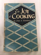 Vintage The Joy of Cooking by Irma S. Rombauer 1946 3rd Edition HC Cookbook