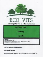 HIGH STRENGTH DEVILS CLAW 5000mg 30 caps ANTI INFLAMMATORY PAIN RELIEF