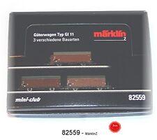 Märklin 82559 Spur Z Wagen-Display mit 10 versch.Güterwagen GI 11 #NEU in OVP#