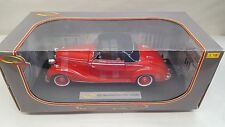 Signature Models 1950 Mercedes-Benz 170S Cabriolet RED 1:18 Scale Die-Cast Car