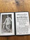 Sterbebild Maschinengewehr Komp. EK2 1918 gefallenFotos, Briefe & Postkarten - 34648